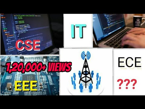 CSE V/S IT V/S ECE ||How to choose engineering branch?|| ENGINEERING