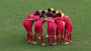 Спорт. Футбол. AFC Championship U-19 Qualification. KYRGYZSTAN-UNITED ARAB EMIRATES 1-й тайм