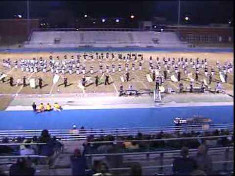 ?Columbus High School Falcons Marching Band Competition Whiter Shade of Pale 2001-2002 Mississippi
