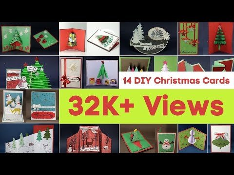 Handmade Christmas Card Ideas - 14 DIY Christmas Cards To Make For Best Holiday Greetings