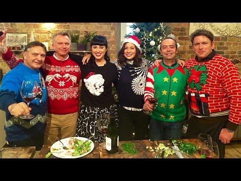 UK CHRISTMAS SATURDAY KITCHEN 20 DECEMBER 2014 James Martin and Sam Neill FULL EPISODE 3D