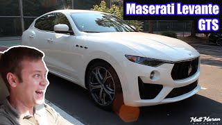 Review: 2019 Maserati Levante GTS - Ferrari Power in a Luxury SUV!