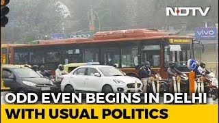 Odd-Even Rule Kicks Off Today; 15 Lakh Cars Off Delhi Roads