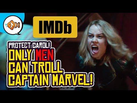 Captain Marvel on IMDb: Carol Trolled by Nasty Men?!
