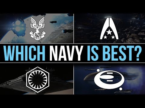 Which SCI-FI Faction has the BEST NAVY? | UNSC, Covenant, First Order, Systems Alliance
