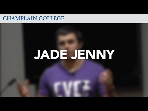 Jade Jenny: Speaking from Experience