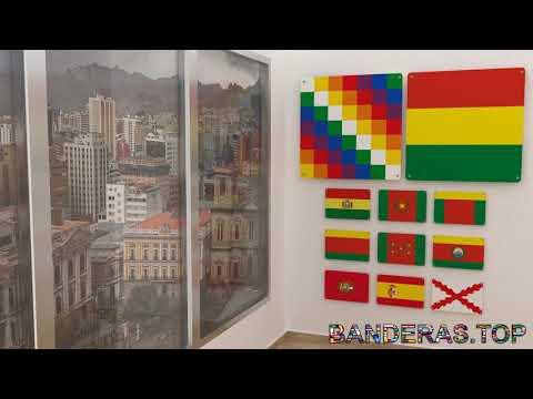 Himno y banderas de Bolivia | Bolivia flags and anthem