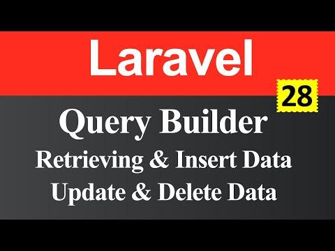 Query Builder in Laravel