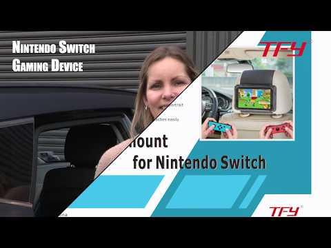 TFY Car Headrest Mount for Nintendo Switch