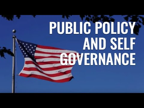 Public Policy and Self Governance
