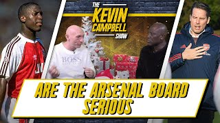 Are The Arsenal Board Serious About Getting A Proper Manager? | Kevin Campbell Show Ft Lee Judges