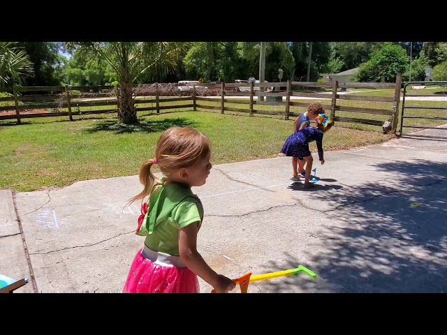 Miniature Golf Fun with Morgan, Mason and Mia