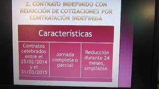 El contrato de trabajo en España 1º parte - Contrato indefinido