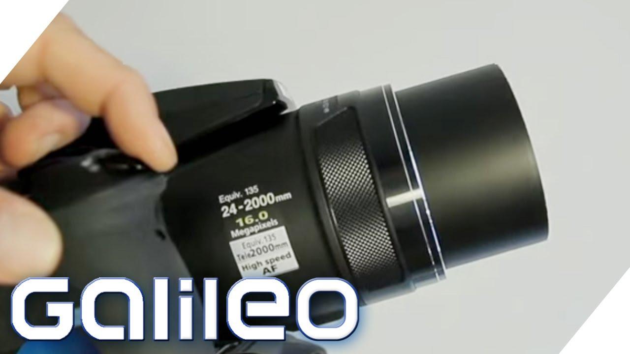 Superzoom-Kamera im Test | Galileo Lunch Break