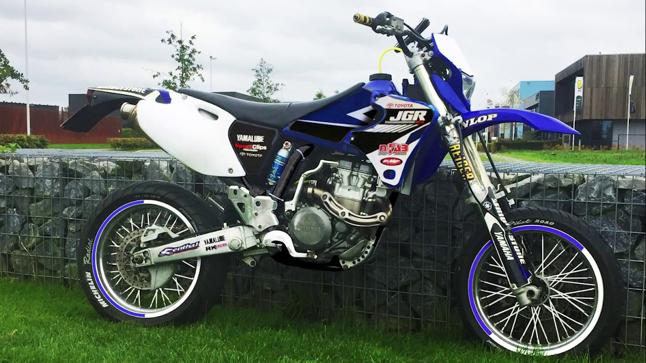 yamaha wr 400 supermoto photoshop design gear grinders. Black Bedroom Furniture Sets. Home Design Ideas
