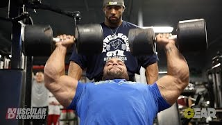 Jon Delarosa & Juan Morel | Shoulder training for the Mr. Olympia