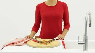 Messer reinigen