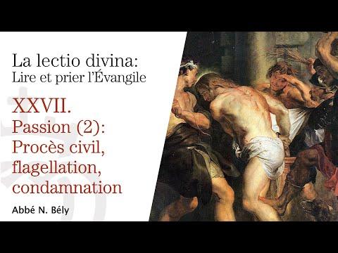 Conférences sur la Lectio divina XXVII. Du procès civil à la condamnation -  Abbé Nicolas Bély