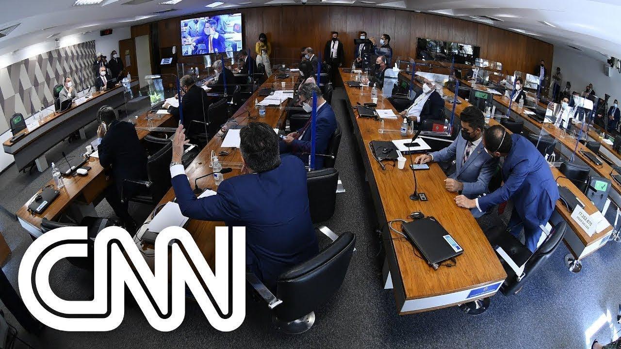 Download Faltam elementos para avaliar convocação de ex-esposa de Bolsonaro à CPI, diz senador   EXPRESSO CNN