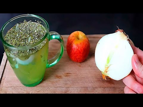 Apple, Onion and Oregano Tea: The Secret Recipe for a Healthy Living