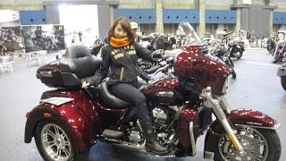 コンベックス岡山でHARLEY-DAVIDSONに乗れる『RIDE ON TOUR』が開催され...