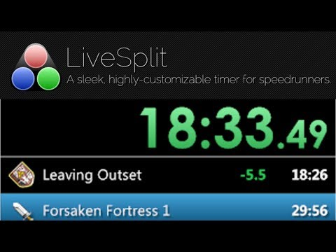 how to use livesplit with obs