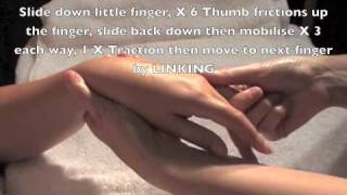 Relaxing Manicure Massage