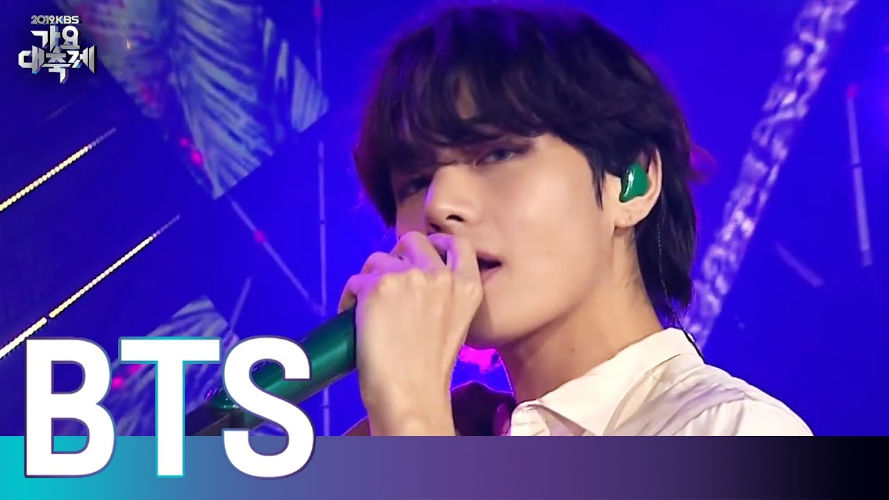 BTS(방탄소년단) - 작은 것들을 위한 시 (Boy with luv) [2019 KBS 가요대축제] 20191227