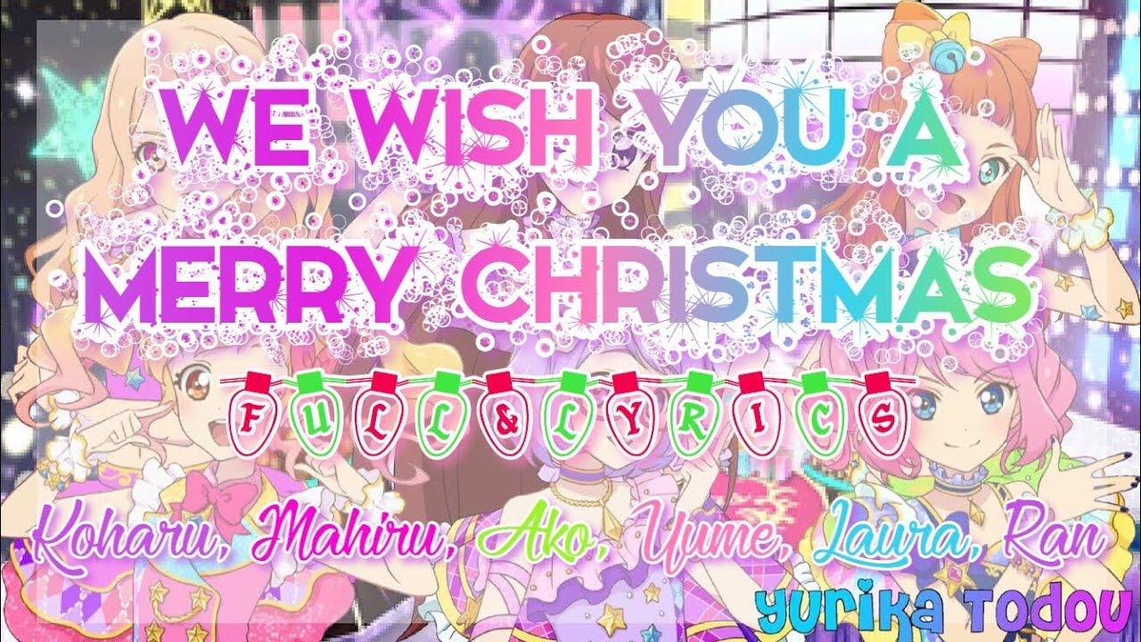 Aikatsu/Stars! We wish you a Merry Christmas Full + Lyrics Koharu, Mahiru, Ako, Yume, Laura Ran ...