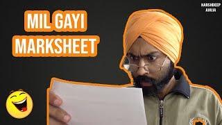 Mil Gayi MARKSHEET | Harshdeep Ahuja