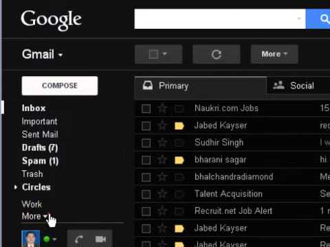 How to delete all messages in gmail