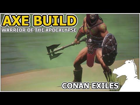 AXE BUILD Warrior Of The Apocalypse | CONAN EXILES