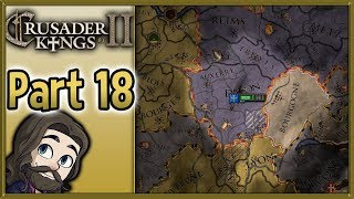 Crusader Kings II Asturias Gameplay - Part 18 - Let