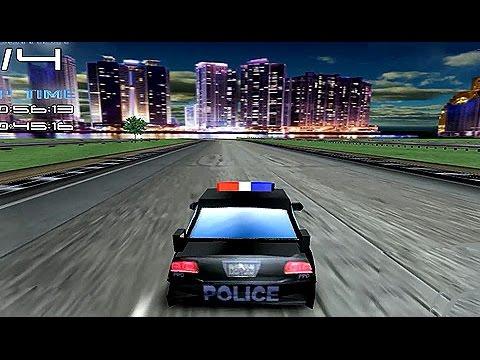 Juego Carros De Policia Para Ni 241 Os Carrera De Auto
