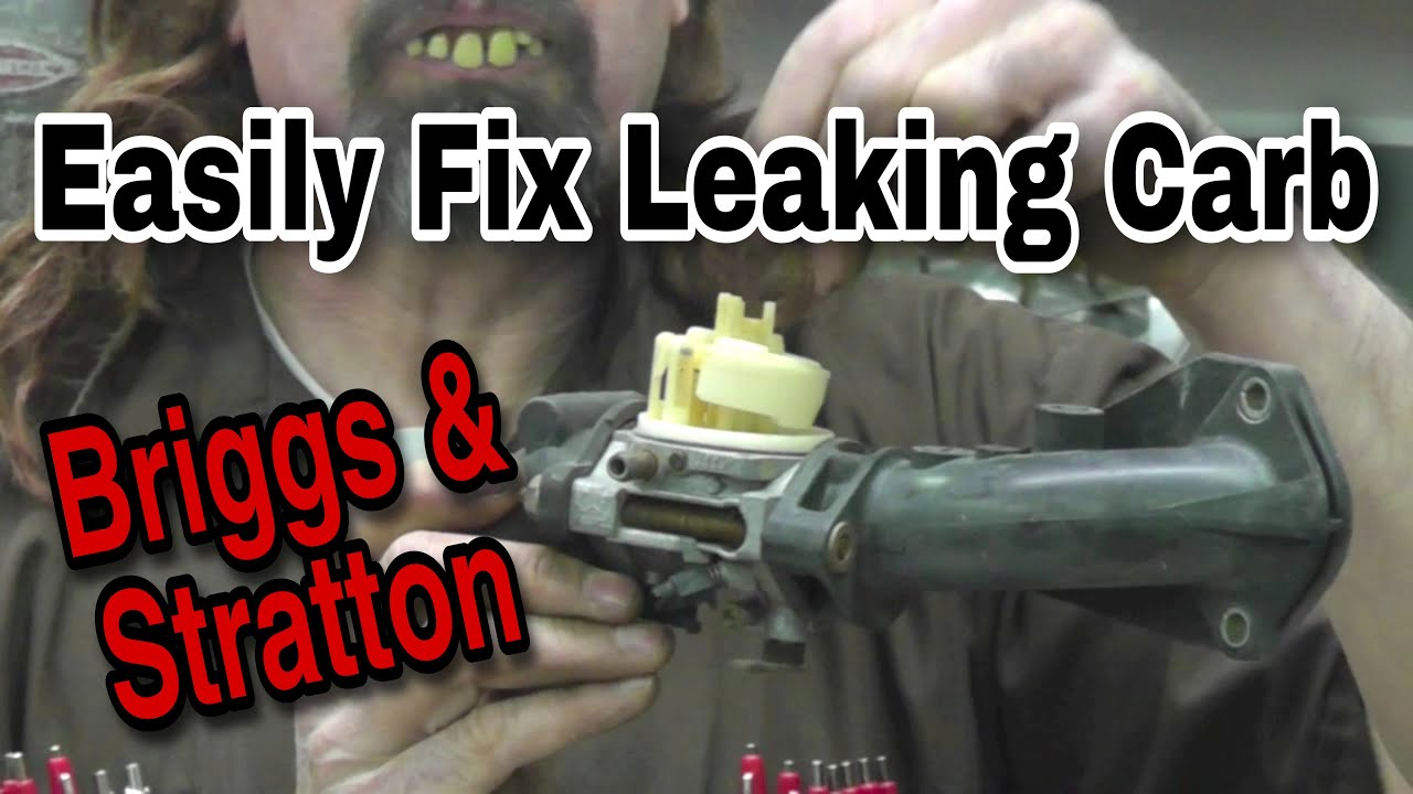 How To Fix A Leaking Briggs Carburetor With Taryl Youtube Governor Linkage Diagrams Besides Stratton Diagram