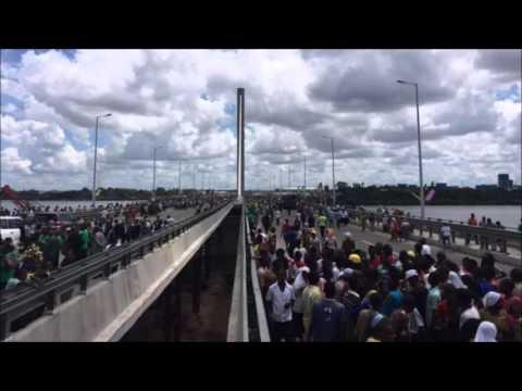 Tanzania bridge 'liberates commuters' in Dar es Salaam