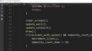 كيفية إنشاء بسيطة النينجا لعبة فيديو في ج