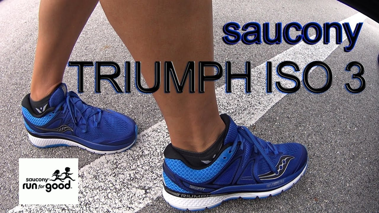 Saucony Triumph Iso 3 recensione