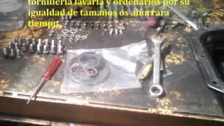 Como reparar motor Turbo Iveco daily cambiar juntas mecanica tutoriales Juego completo de juntas