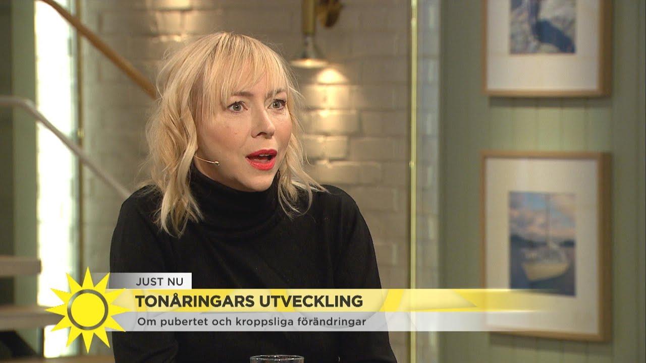 """Tonåringars utveckling – """"Svårt att hänga med som förälder"""" - Nyhetsmorgon (TV4)"""