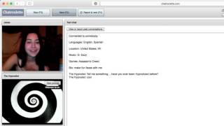 Hypnotized on Chatroulette - Turned into a Cat