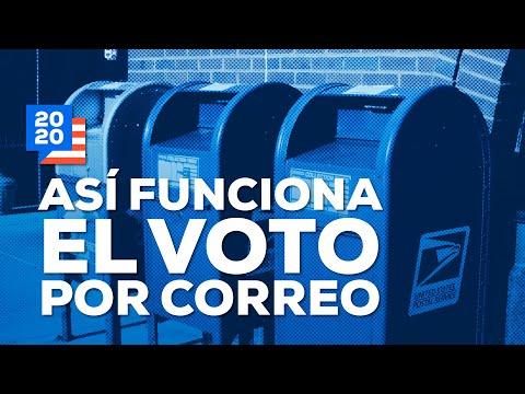 Así funcionará el voto por correo