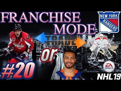 """NHL 19 Franchise Mode - New York Rangers #20 """"SHAKE N BAKE!"""""""