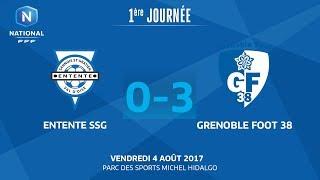 Entente SSG vs Grenoble full match