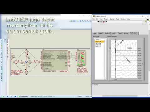Grafik tabel dan penyimpanan data dengan arduino proteus dan grafik tabel dan penyimpanan data dengan arduino proteus dan labview ccuart Image collections