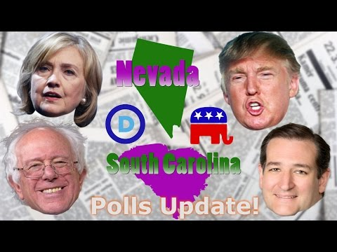 Polls Update - Nevada and South Carolina - GOP and Democratic Primaries
