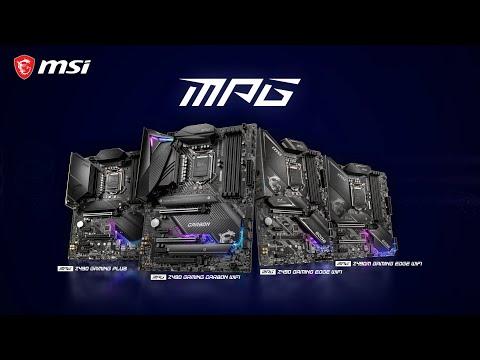 「Sorry」免運 微星 MPG Z490 GAMING EDGE WIFI 主機板 ATX 僅適用第十代CPU
