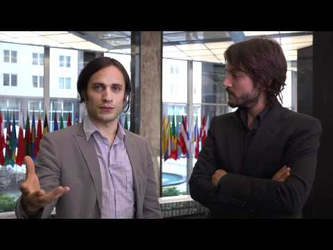 Gael Garcia Bernal and Diego Luna discuss Ambulante A.C. at the Department of State