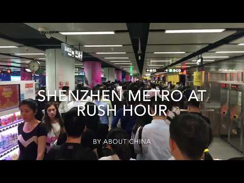 地铁高峰期 | Shenzhen Metro At Rush Hour