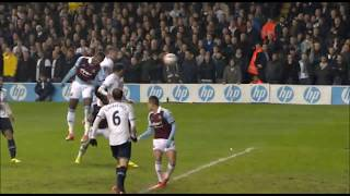 Tottenham 1-2 West Ham 18th December 2013